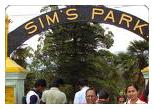 Ooty Car Rental For Sims park - Coonoor